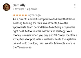 Google Review by Sam Ally